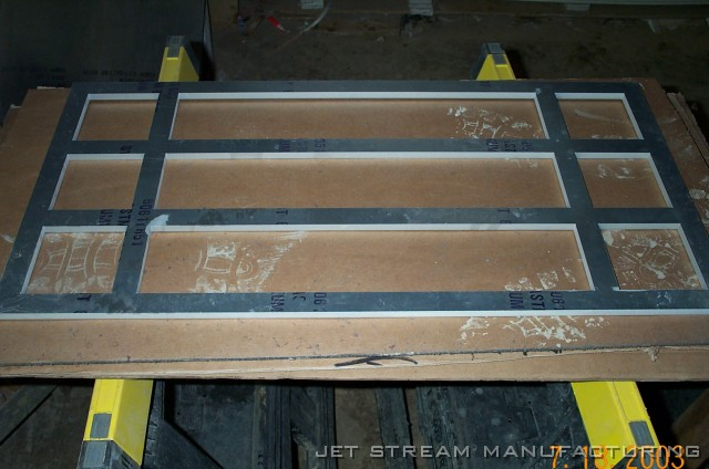 heavy aluminum window frames